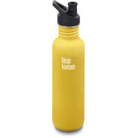 Klean Kanteen Classic Bottle Sport Cap 800ml Lemon Curry Matt